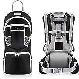 Sac à dos porte-bébé ergonomique rembourré, protection solaire, ceinture, randonnée montagne...