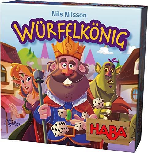 Haba 303485 - Würfelkönig, kniffeliges Zockerspiel für 2-5 Spieler ab 8 Jahren, spannendes Gesellschaftsspiel für die ganze Familie