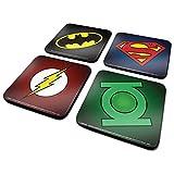 DC Comics CSP0010 Untersetzer, Mehrfarbig