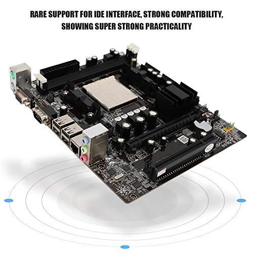 Diyeeni PC Mainboard für AM2 AM3 CPU (M-ATX, DDR2/DDR3 Speicher, Integriertes GF7025/ 7050/6100 Grafik, 2X SATA2.0, 4X USB), 3Pin Gaming Motherboard mit IDE Schnittstelle