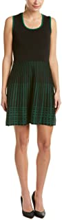 Anne Klein womens Sleeveless Knit Fit & Flare Dress Dress