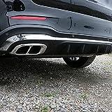 2 Pcs De AceroInoxidable Coche De Escape Cubierta De, Para Mercedes Benz GLC GLE GLS 2020 Cola Accesorios De Ajuste Adecuado Trasero