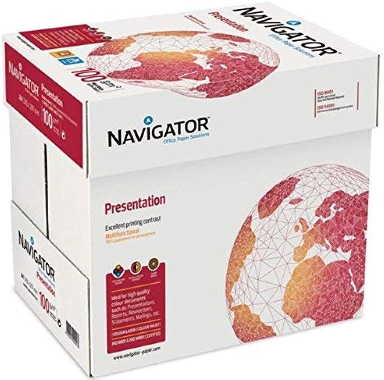 NAVIGATOR A4 Papier 100 gsm Präsentation 500 Blatt x 5 B00D3LM04M | Schön In Der Farbe