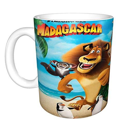 Taza de café Madagascar para capuchino, café con leche o té caliente,...