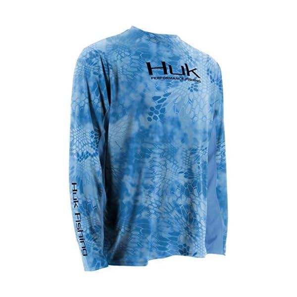 Huk Men's Kryptek Solid Long Sleeve Icon