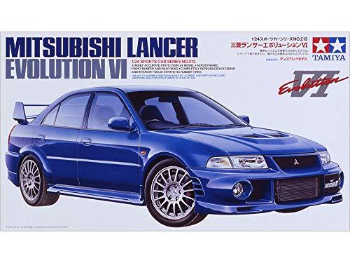 Tamiya 300024213 - Maqueta de coche Mitsubishi Lancer Evolution VI (escala 1:24)