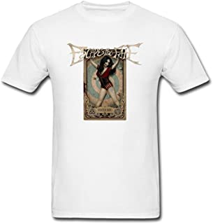 SDAKGF Men's Hate Me Escape The Fate Album Logo T Shirt S