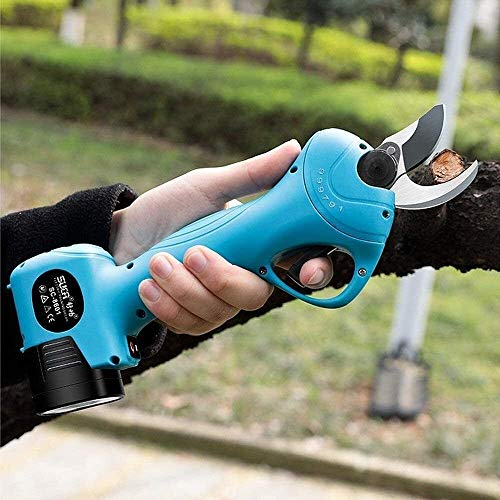 Find Bargain JYD Professional Cordless Electric Pruning 25mm Electric Pruning Shears Professional Re...