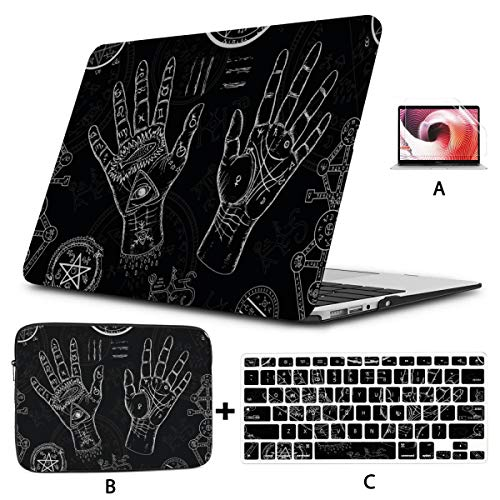 Laptop Case Mac The Track of The Fate Series Symbol MacBook Pro 15inch Case Hard Shell Mac Air 11'/13' Pro 13'/15'/16' with Notebook Sleeve Bag for MacBook 2008-2020 Version