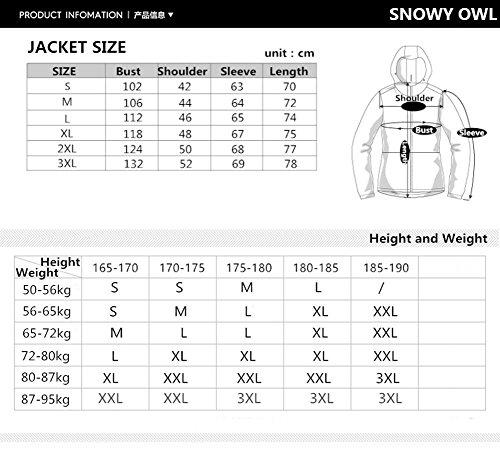 51S8ftT5UaL - HOTIAN Men's Ski Jackets and Pants Waterproof Windproof Outdoor Coats Snow Snowboard Jackets
