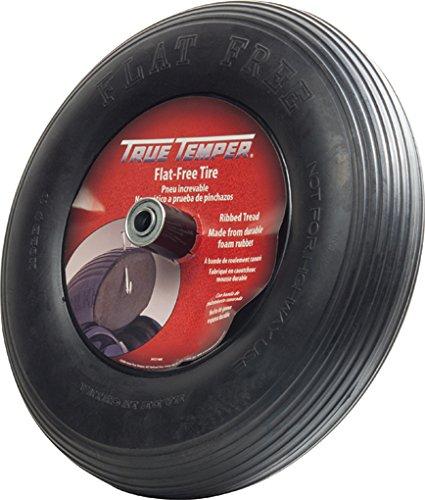 The AMES Companies, Inc SFFTCC True Temper 3 Carton Spoked Flat Free Replacement Wheelbarrow Tire