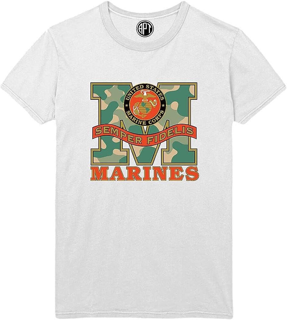 Marines Semper Fidelis Printed T-Shirt