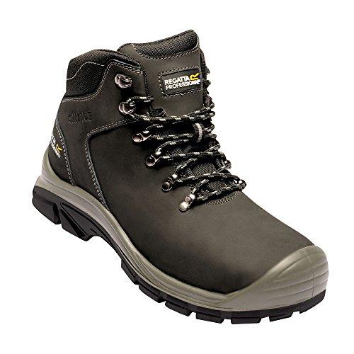 Regatta Hardwear - Botas de Trabajo de Seguridad Peakdale S3 para Chico Hombre (41 EU) (Negro)