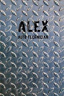 2021 Auto Technician Alex Calendar and planner 140 pages