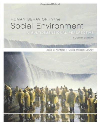 Human Behavior in the Social Environment: A...