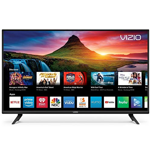 "Vizio D40F-G9 1080p 40"" Smart LED TV, Black (Renewed)"