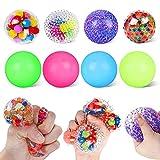 8Pack Stress Balls for Kids, Squishy Balls Fidget Balls Unbreakable Autism Sensory Toys, Sticky...