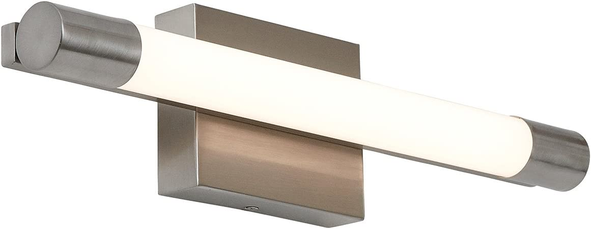 Tucson Mall New Slim Line Modern Opening large release sale Frosted Con Light Bathroom Vanity Fixture