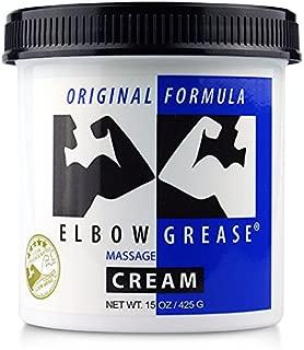 B. Cumming Elbow Grease Original Lubricant Cream, 15-Ounce