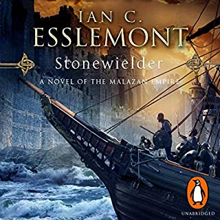 Stonewielder     Epic Fantasy: Malazan Empire              Auteur(s):                                                                                                                                 Ian C. Esslemont                               Narrateur(s):                                                                                                                                 John Banks                      Durée: 26 h et 43 min     4 évaluations     Au global 4,8