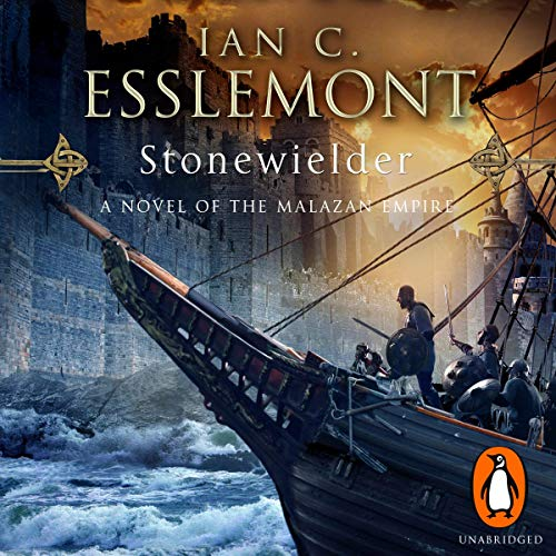 Stonewielder     Epic Fantasy: Malazan Empire              Written by:                                                                                                                                 Ian C. Esslemont                               Narrated by:                                                                                                                                 John Banks                      Length: 26 hrs and 43 mins     4 ratings     Overall 4.8