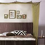Lumaland moustiquaire Filet Anti-Moustique en Forme de Caisson 220x200x210 intérieur et extérieur Vert
