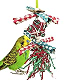 1040X Christmas Xmas Foraging Star Shred Bird Toy Parrot cage Toys Cockatiel