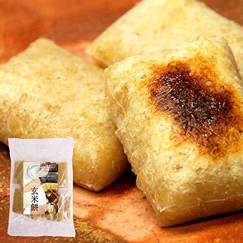 無農薬・無添加 の玄米切餅 10枚入×10袋 【GI値37-低GI食品】