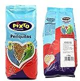 BPS Pienso Periquitos 1Kg Alimento Completo Comida con Formula Alta Energía Material Natural Receta Equilibrada con Base Científica BPS-11401