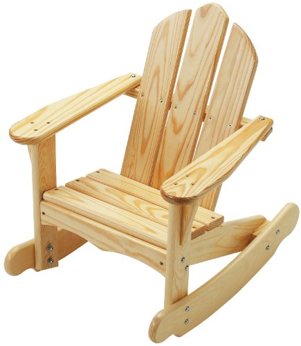Little Colorado Child's Adirondack Rocking Chair- Unfinished