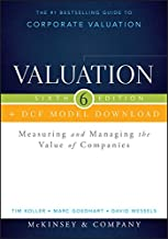 Best Valuation + DCF Model Download: Measuring and Managing the Value of Companies (Wiley Finance) Reviews