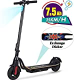 MEGAWHEELS S10 Electric Scooter, 25KM Long Range Battery, Up...