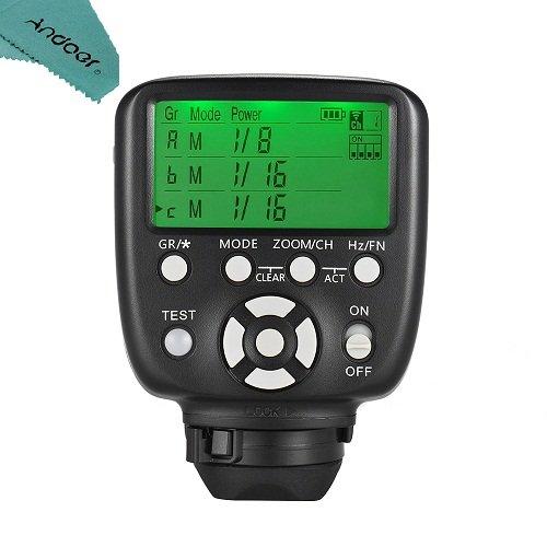 Yongnuo YN560-TX II Flash Trigger LCD Transmitter für Canon DSLR Kamera zu YN560III / YN560IV / YN660 / YN968N / YN860Li Speedlite RF-602 / RF603 / RF603 II / RF605 Empfänger