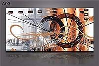 壁に手描きの油絵、抽象芸術純粋な手作りの油絵、高級エントランスの廊下の絵、アートデコレーションの絵(60 * 120 Cm)
