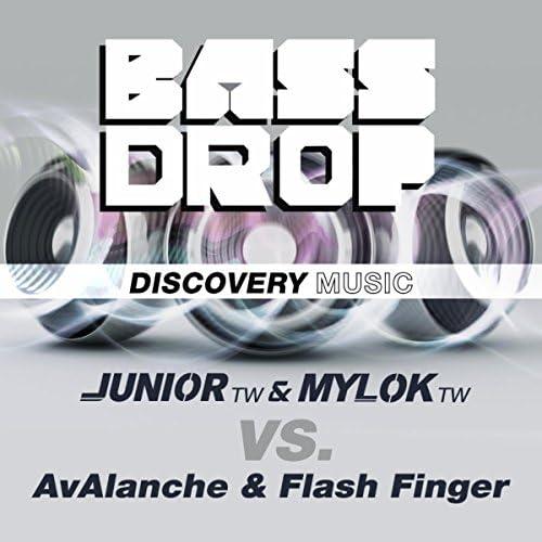 DJ Junior (TW) & MylOK (TW) vs. AvAlanche & Flash Finger