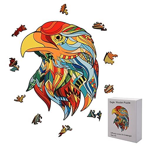 FORMIZON Puzzle de Madera, Rompecabezas de Madera para Adultos y Niños, 3D Puzzle de Colorido de Forma única, Pieza de Rompecabezas de Bricolaje para Niño y Niña