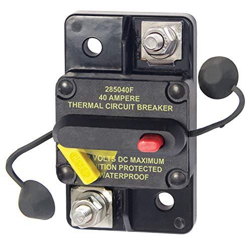 Blue Sea Systems - 7182 187 Series, 285 Series & Klixon Circuit Breakers, 40A