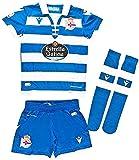 RC Deportivo Kit Infantil 1ª Equipación 2019/20 Camiseta,...