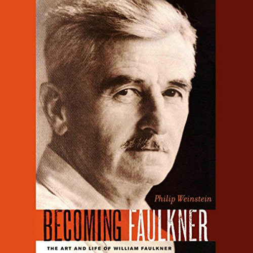 Becoming Faulkner audiobook cover art