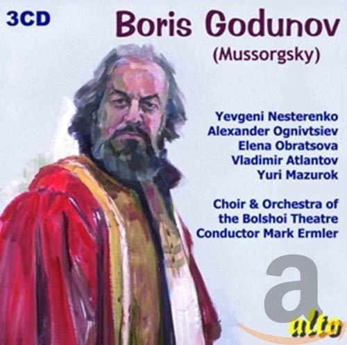 Moussorgski : Boris Godunov. Nesterenko, Obratsova, Emler