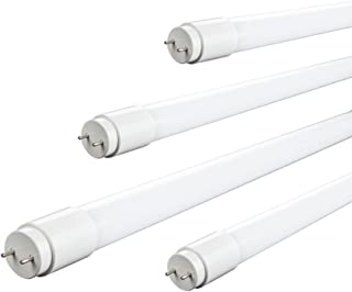 LED 蛍光灯 20w形 直管 led 58cm グロー式工事不要 直管蛍光灯 1100LM 広配光 300° 昼光色 4本入り