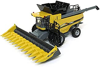 Spec Cast 1/64th Gleaner S78 High Detail Combine with DynaFlex Draper Header - coolthings.us