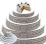 White Cake Circles Round Cake Boards Cake Circle Base Sturdy Cake...