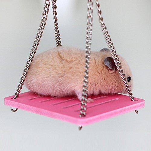 Yesiidor Hängende Hängematte Kleine Schaukel Spielzeug Käfig Für Hamster Maus IN 4 Farben