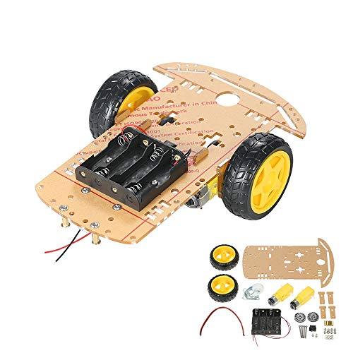 Teile von Maschinen 2WD 2-Rad-intelligente Auto-Chassis DIY Kit Tracing Auto mit Drehzahlgeber 2 Motor 1.48 for Arduino Testausrüstung Werkzeuge Elektro- & Handwerkzeuge