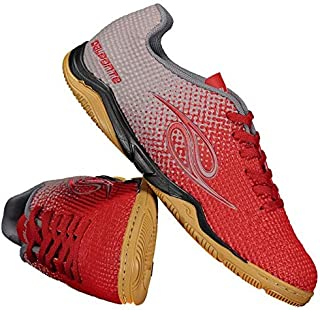 16378d042ab75 Chuteira Dalponte Flash Futsal Vermelha