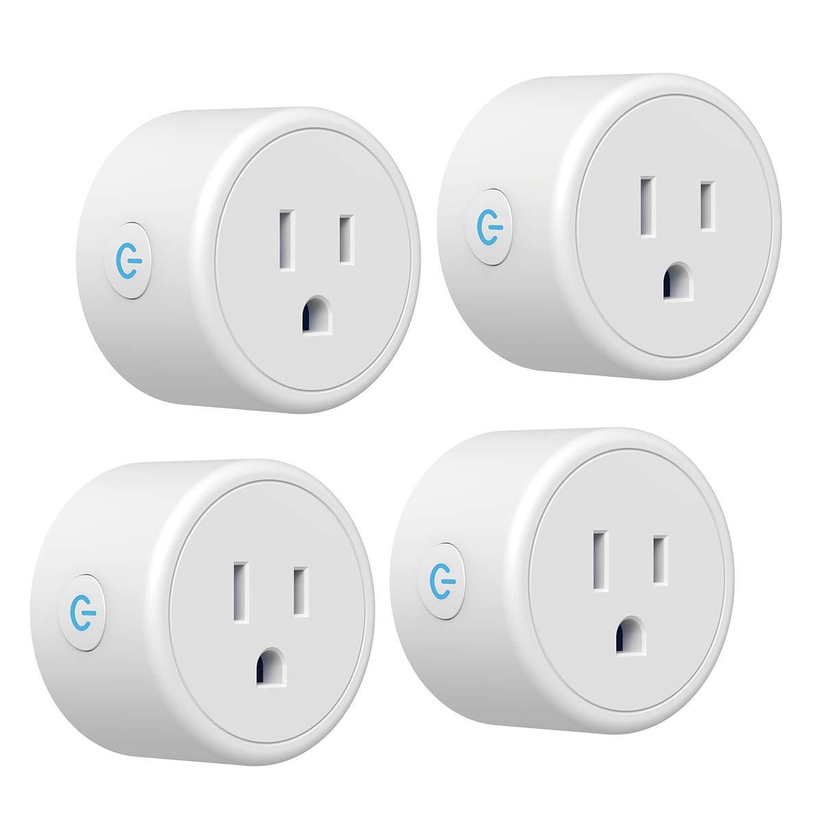 Smart Plug CRESTIN Works Max 54% OFF with Google Cheap sale Mini Alexa Assistant