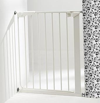 BabyDan Barrière d'Escaliers Slim Fit Blanc