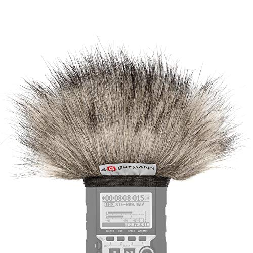 Gutmann Mikrofon Windschutz für Zoom H4n / H4nSP / H4n Pro Lynx   Made in Germany