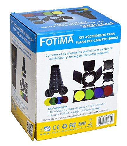Fotima 220023- Kit di accessori per l'illuminazione, FTF-160/FTF-200